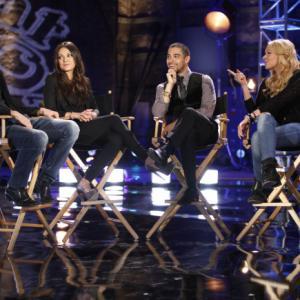 Still of Mila Kunis, Ashton Kutcher, Wilmer Valderrama and Laura Prepon in FOX 25th Anniversary Special (2012)