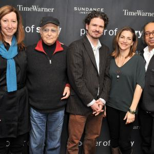 Norman Lear, Rachel Goslins, Dave Eggers and Keri Putnam