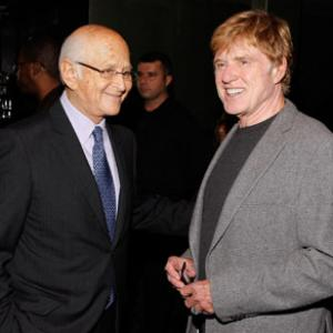 Robert Redford and Norman Lear