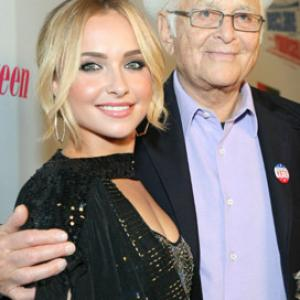 Norman Lear and Hayden Panettiere