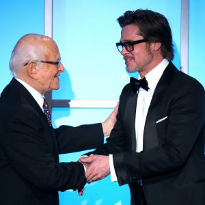 Brad Pitt and Norman Lear