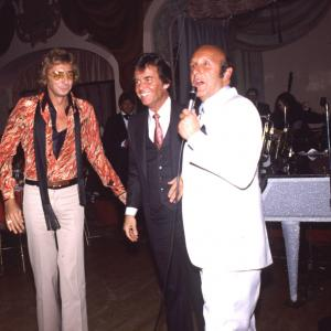 Barry Manilow, Dick Clark, Clive Davis