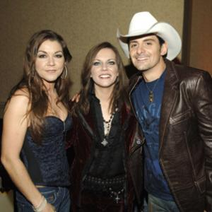 Martina McBride Brad Paisley and Gretchen Wilson