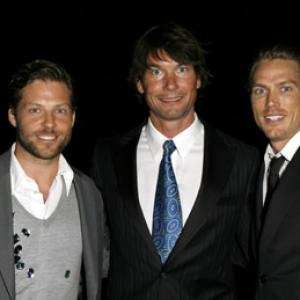 Jerry OConnell Jamie Bamber and Jason Lewis