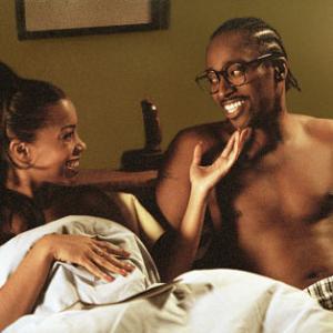 Still of Paula Jai Parker and Eddie Griffin in My Babys Daddy 2004