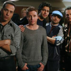 Still of Kevin Dillon Adrian Grenier Jeremy Piven Kevin Connolly and Jerry Ferrara in Entourage 2004