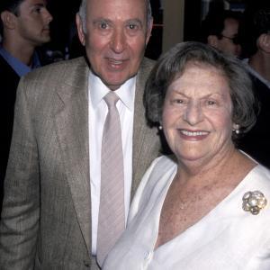 Carl Reiner and Estelle Reiner