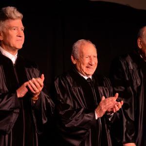 David Lynch, Mel Brooks and Carl Reiner