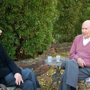 Still of Carl Reiner and David Steinberg in Inside Comedy (2012)