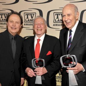 Mel Brooks, Billy Crystal and Carl Reiner