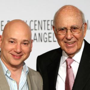 Carl Reiner and Evan Handler