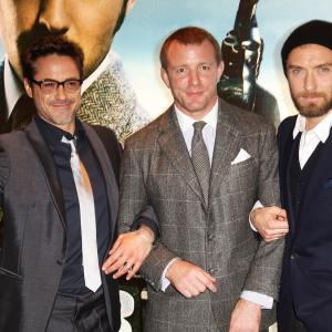 Jude Law, Robert Downey Jr., Guy Ritchie