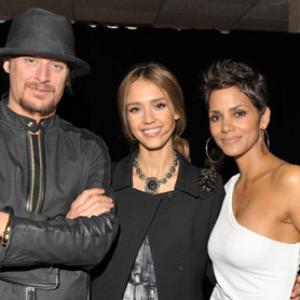 Halle Berry, Jessica Alba, Kid Rock