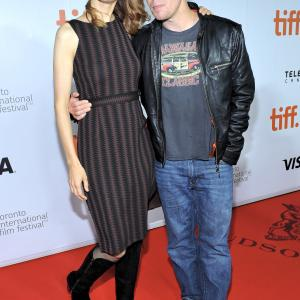 Sam Rockwell and Lynn Shelton at event of Laggies (2014)