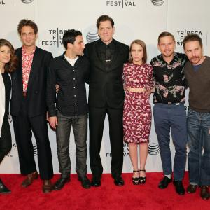 Marisa Tomei, Sam Rockwell, Michael Godere, Ivan Martin, Adam Rapp and Isabelle McNally