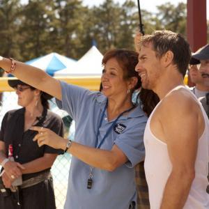 Sam Rockwell, Jim Rash and Maya Rudolph in The Way Way Back (2013)