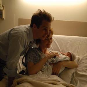 Still of Sam Rockwell and Vera Farmiga in Joshua 2007
