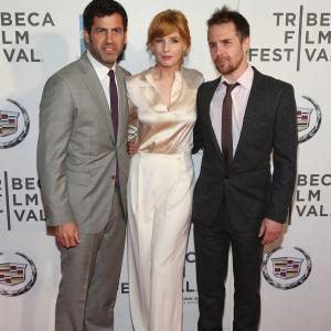 Sam Rockwell, Kelly Reilly and David M. Rosenthal at event of A Single Shot (2013)