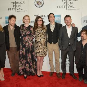 Busy Philipps, Sam Rockwell, Kat Coiro, Peter Dinklage, Justin Long, Evan Rachel Wood and Keir O'Donnell at event of A Case of You (2013)