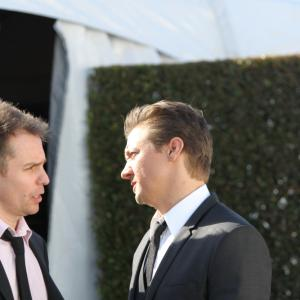 Sam Rockwell and Jeremy Renner
