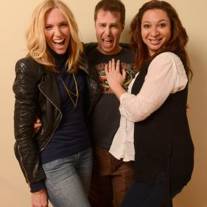 Toni Collette, Sam Rockwell and Maya Rudolph