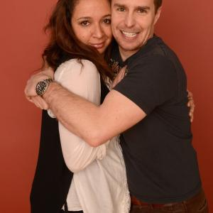 Sam Rockwell and Maya Rudolph at event of The Way Way Back (2013)