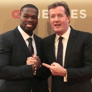 Charlotte Ross, Piers Morgan, 50 Cent
