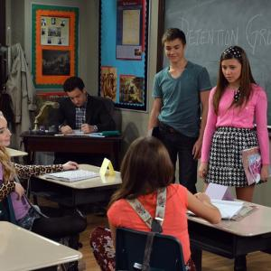 Ben Savage, Olivia Stuck, Sabrina Carpenter, Peyton Meyer