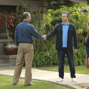 Still of Kerr Smith, Jamie McShane, Maia Mitchell and Hayden Byerly in The Fosters (2013)
