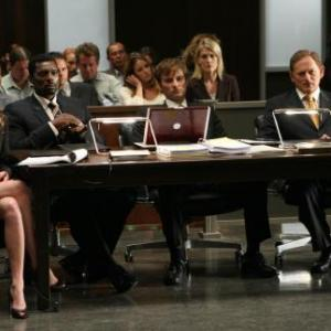 Still of Victor Garber, Kerr Smith, Eamonn Walker and Rebecca Mader in Justice (2006)