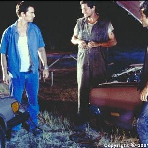 Sean (Kerr Smith) finds himself face to face with two members of the motley crew Pen (Simon Rex) and Kit (Johnathon Schaech)