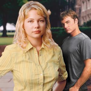 Still of Kerr Smith and Michelle Williams in Dawson's Creek (1998)