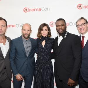 Jude Law, Jason Statham, Paul Feig, Rose Byrne, 50 Cent