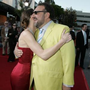 Joel Silver and Hilary Swank at event of The Reaping 2007