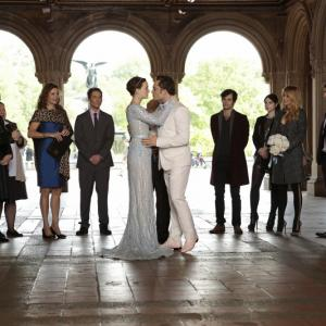 Still of Wallace Shawn, Desmond Harrington, Kelly Rutherford, Michelle Trachtenberg, Penn Badgley, Margaret Colin, Blake Lively, Leighton Meester, Chace Crawford, Ed Westwick and Zuzanna Szadkowski in Liezuvautoja: New York, I Love You XOXO (2012)