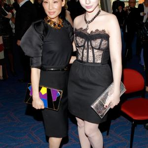 Lucy Liu and Michelle Trachtenberg