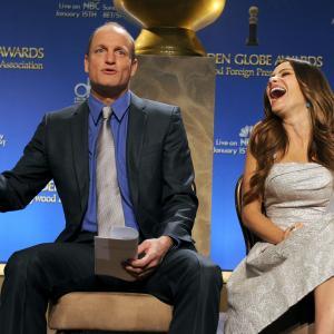 Woody Harrelson and Sofa Vergara