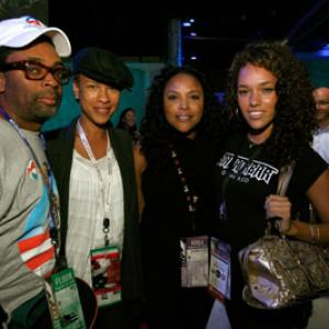 Spike Lee, Lynn Whitfield, Tonya Lewis Lee, Grace Gibson