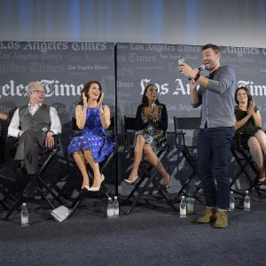 Scott Foley, Portia de Rossi, Jeff Perry, Kerry Washington, Bellamy Young, Guillermo Diaz, Katie Lowes