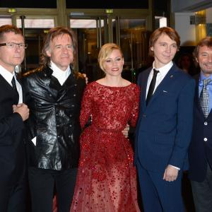 Elizabeth Banks, Paul Dano and Bill Pohlad at event of Love & Mercy (2014)