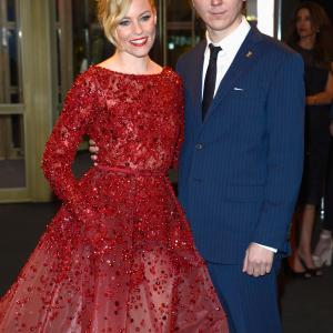 Elizabeth Banks and Paul Dano at event of Love & Mercy (2014)