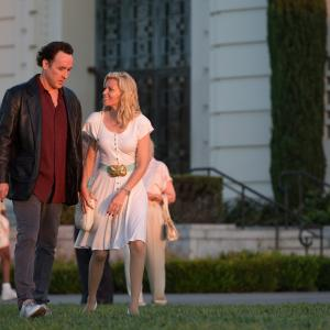 Still of John Cusack and Elizabeth Banks in Love & Mercy (2014)