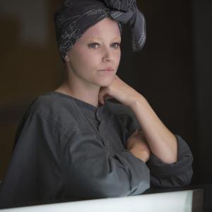 Still of Elizabeth Banks in Bado zaidynes: Strazdas giesmininkas. 1 dalis (2014)