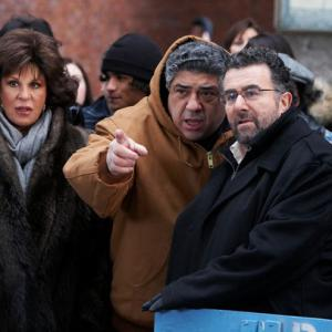 Saul Rubinek Lainie Kazan Vincent Pastore John Lloyd Young Phyllis Silver and Alexandra Mamaliger in Oy Vey! My Son Is Gay!! 2009