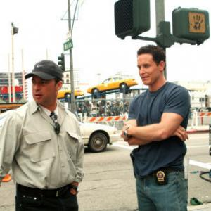 Paul Abascal and Cole Hauser in Paparazzi 2004
