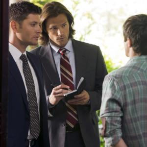 Still of Jensen Ackles James Dittiger and Jared Padalecki in Supernatural 2005