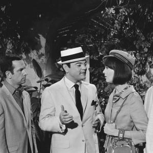 Don Adams, Barbara Feldon, Joey Forman