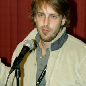 Alexandre Aja at event of Haute tension 2003