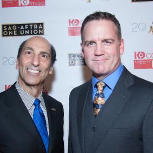 2014 SAG Awards, Dallas - Hector Garcia, Brent Anderson