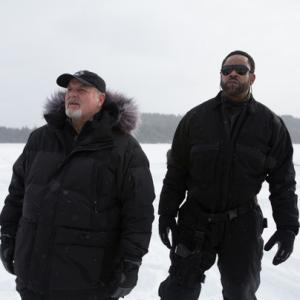 Still from the film ICE SOLDIERS (Michael Ironside and Benz Antoine)